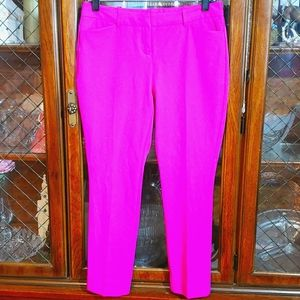 Hot Pants 🔥 2 Petite Fuchsia Ankle Stretch Pink